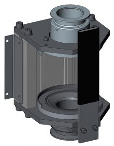 Iodpatronenhalterung DN50 - Modell