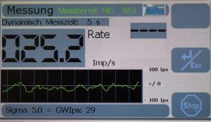 RGM 2037 Messung