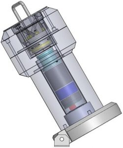 Iodmonitor RIM 2070 - Dekektor Schema