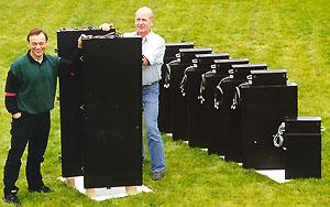 RPD-Detektoren in 3 verschiedenen Ausführungen