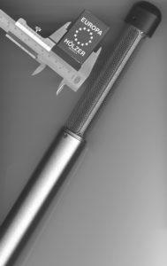 Xenon-Detektor RXD 110Rd, Größenvergleich